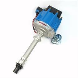 PerTronix D1002 Flame-Thrower Distributor HEI SBC/BBC, Blue Cap