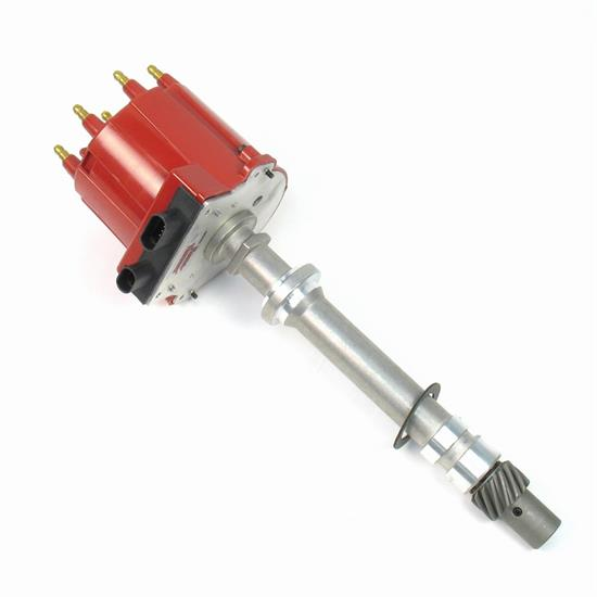 PerTronix D1021 Flame-Thrower Distributor HEI/EST, SBC/BBC, Red