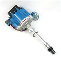 PerTronix D1052 Flame-Thrower Distributor HEI, SBC/BBC, Blue