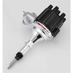 PerTronix D106700 Flame-Thrower Electronic Distributor, SBC/BBC, Black
