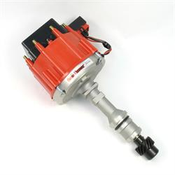 PerTronix D1171 Flame-Thrower Race Distributor HEI, Olds V8, Red