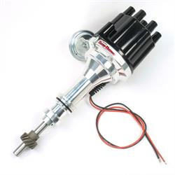 PerTronix D130700 Flame-Thrower Distributor, Ford SBF 221-302, Black
