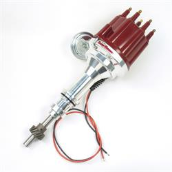 PerTronix D131711 Flame-Thrower Electronic Distributor, Ford 351W, Red