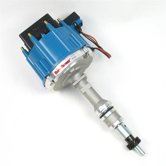 PerTronix D1372 Flame-Thrower Race Distributor HEI, SBF 221-302, Blue