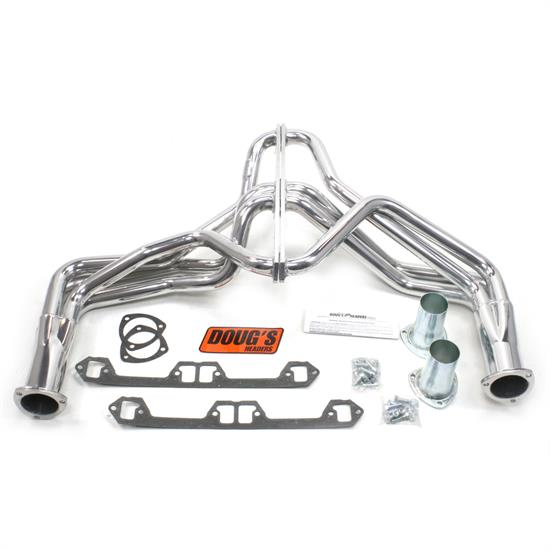 Doug's Headers D190 Full Length Header, 1-5/8 In, 72-80 Jeep, CC