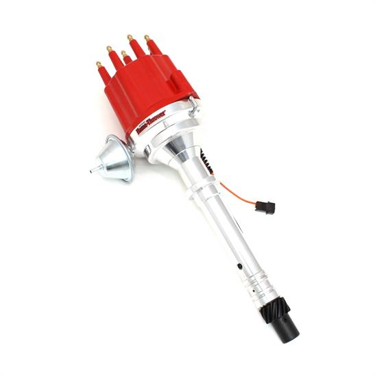 PerTronix D300711 Billet Mag Trigger Distributor Chevy V8, Red