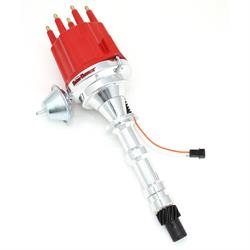 PerTronix D301711 Billet Mag Trigger Distributor Chevy 348/409, Red