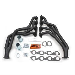 Doug's Headers D303Y-B Tri-Y Header, 1-3/4 In, 68-87 Chevy Truck, Blk