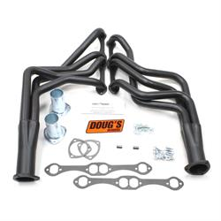 Doug's Headers D308-B Full Length Header, 1-5/8 In, 1964-89 GM, Black