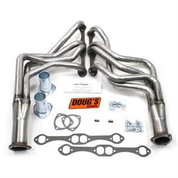 Doug's Headers D308-R Full Length Header, 1-5/8 In, 1964-89 GM, Raw
