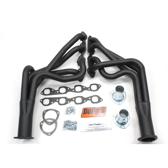 Doug's Headers D328-B Full Length Header, 1-7/8 In, 67-69 Camaro, Blk