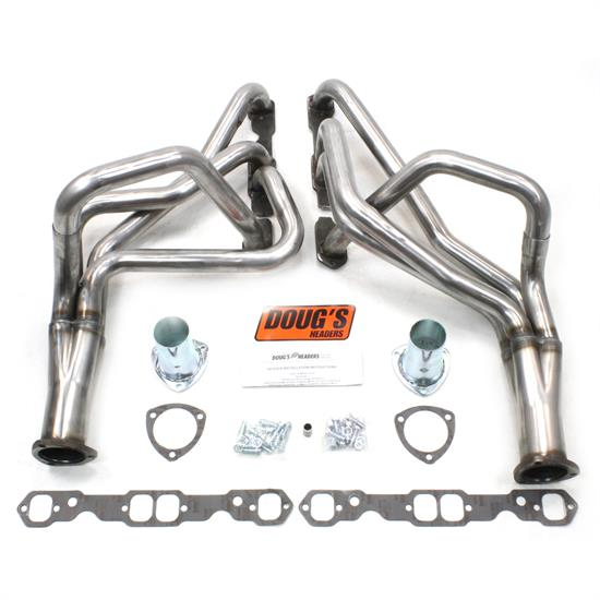 Doug's Headers D330-R Full Length Header 1-3/4 In, 78-87 Chevelle, Raw
