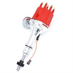 PerTronix D332711 Billet Mag Trigger Distributor Ford 351C-460, Red
