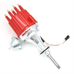 PerTronix D341711 Billet Mag Trigger Distributor Chrysler 273-360, Red