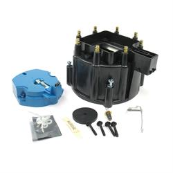 PerTronix D4000 Flame-Thrower HEI Distributor Cap and Rotor Kit Black