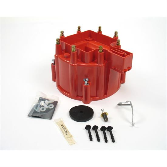 PerTronix D4051 Flame-Thrower HEI Distributor Cap Red