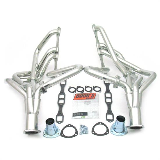 Doug's Headers D440 Full Length Header, 2 In, 62-65 Mopar BB, CC
