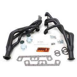 Doug's Headers D450-B Full Length Header, 1-5/8 In, 63-66 Mopar, Blk