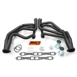 Doug's Headers D451-B Full Length Header, 1-3/4 In, 62-72 Mopar, Blk