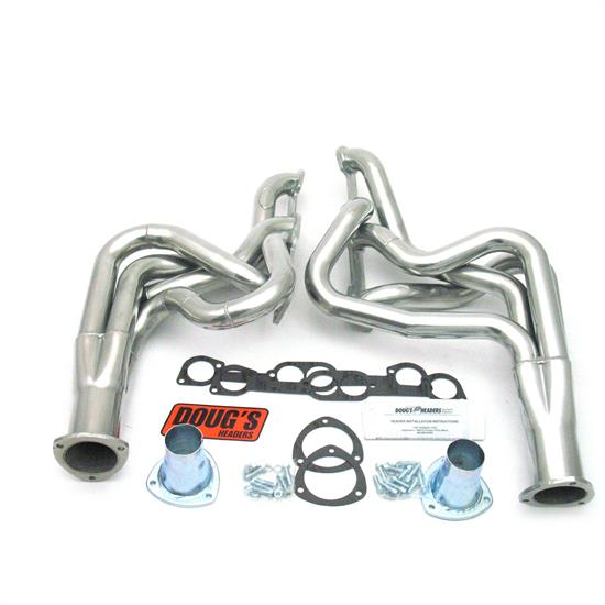 Doug's Headers D522 Full Length Header, 2 In, 68-72 GTO, CC