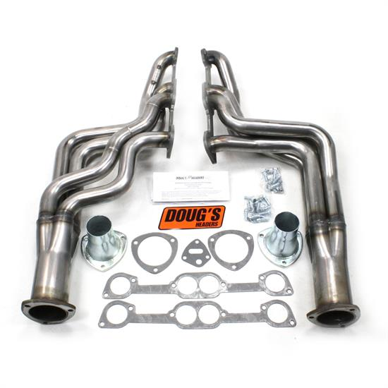 Doug's Headers D567-R Full Length Header, 1-7/8 In, 64-72 GTO, Raw