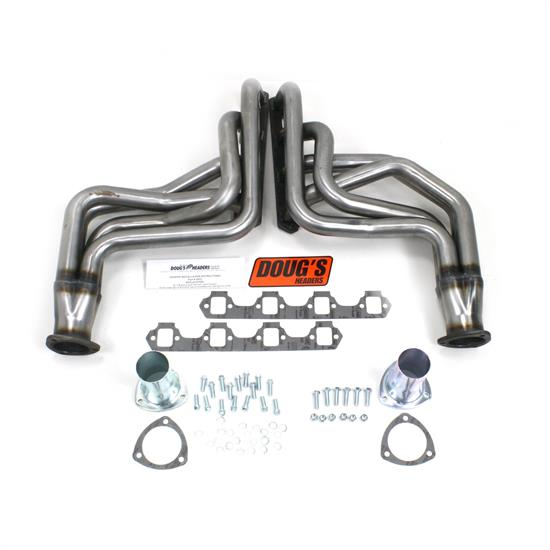 Doug's Headers D623-R Full Length Header, 1-3/4 In, 60-68 Ford, Raw