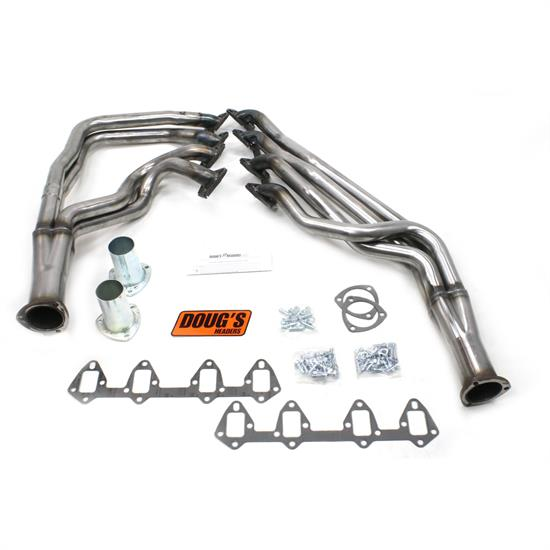 Doug's Headers D625-R Full Length Header 1-3/4 In, 64-73 Fairlane, Raw