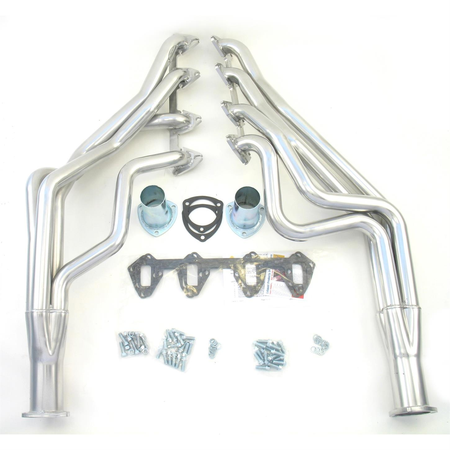 Dougs Headers D627-R 2 4-Tube Full Length Exhaust Header for Ford Mustang FE 67-70