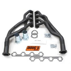 Doug's Headers D661Y-B Tri-Y Header, 1-5/8 In, 60-70 Ford, Blk