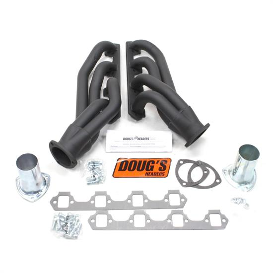 Doug's Headers D665-B Shorty Header, 1-5/8 In, 64-73 Ford Mustang, CC