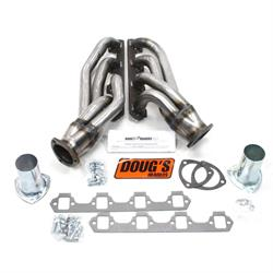 Doug's Headers D665-R Shorty Header, 1-5/8 In, 64-73 Ford Mustang, Raw