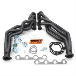 Doug's Headers D6671-B Full Length Header 1-3/4 In, 79-93 Mustang, Blk