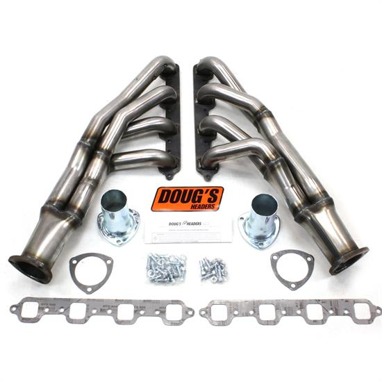 Doug's Headers D669Y-1R Tri-Y Header, 1-3/4 In, 67-70 Mustang, Raw