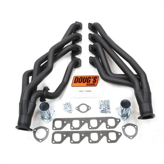 Doug's Headers D670S4-B Full Length Header 1-3/4 In 67-70 Mustang, Blk