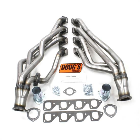 Doug's Headers D670S4-R Full Length Header 1-3/4 In 67-70 Mustang, Raw