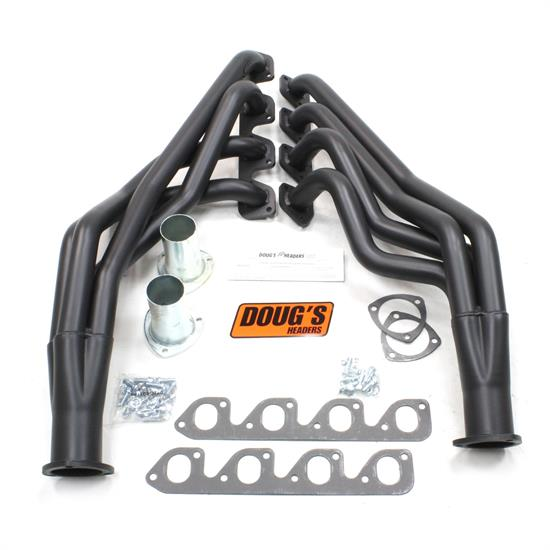 Doug's Headers D6712-B Full Length Header 1-3/4 In, 71-73 Mustang, Blk