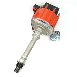 PerTronix D71001 Flame-Thrower HEI III Distributor, Chevy V8, Red