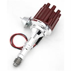 PerTronix D7150701 Flame-Thrower Ignitor III Distributor Buick V8, Red