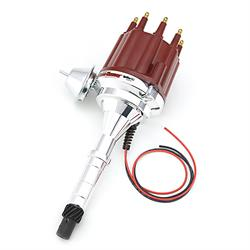 PerTronix D7160711 Flame-Thrower Ignitor III Distributor AMC V8, Red