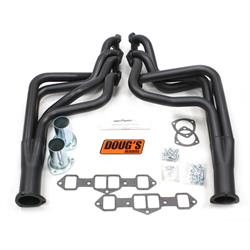 Doug's Headers D741-B Full Length Header, 1-3/4 In, 65-75 Cutlass, Blk