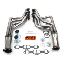 Doug's Headers D743-R Full Length Header, 1-7/8 In, 65-75 Cutlass, Raw