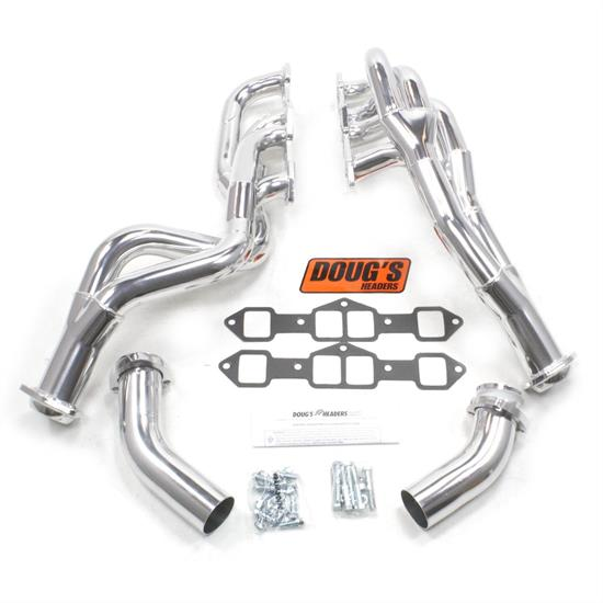 Doug's Headers D755Y Tri-Y Header, 1-3/4 In, 73-78 Oldsmobile, CC