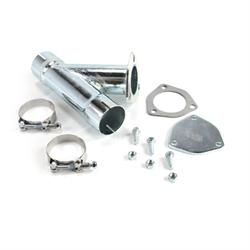 Patriot Exhaust H1129 Exhaust Cut-Out Hookup Kit, 2-1/4 Inch Single