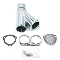 Patriot Exhaust H1133 Exhaust Cut-Out Hookup Kit, 3 Inch Single