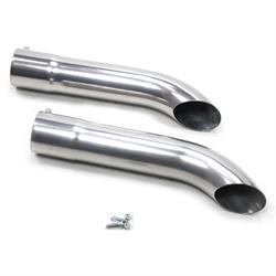 Patriot Exhaust H3812-1 Side Tubes Turnout Muffler, CC, 20 Inch