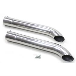 Patriot Exhaust H3819-1 Side Tubes Turnout, CC, 26 Inch