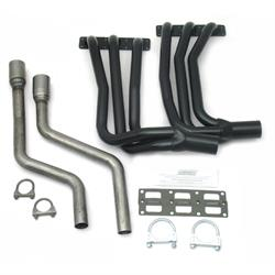 Patriot Exhaust H4830 Classic Import Header, Black, 1-5/8