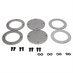 Patriot Exhaust H7266 Collector Flange Kit, 4 Bolt Round, 3-1/2 Inch