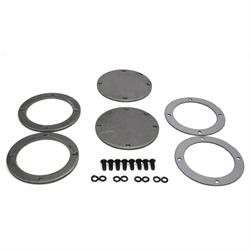 Patriot Exhaust H7267 Collector Flange Kit, 4 Bolt Round, 4 Inch