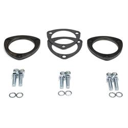 Patriot Exhaust H7268 Collector Flange kit, 3 Bolt, 3 Inch